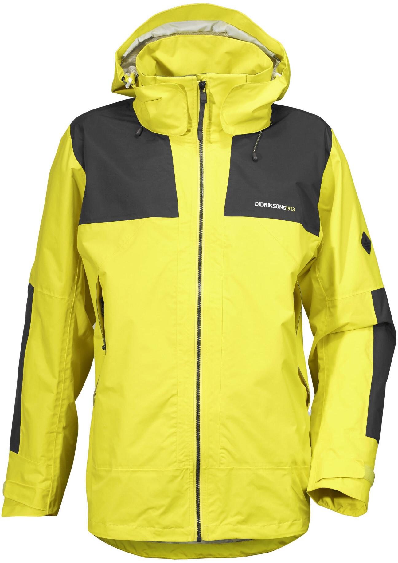 Didriksons 1913 Robin Jacket Herren Gorse Yellow Campz At